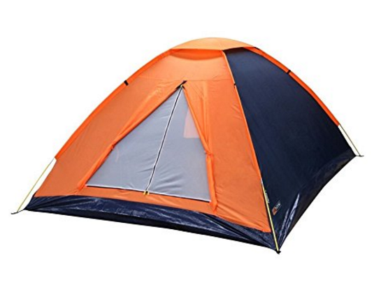 NTK Panda 4 Person 6.7 by 6.7 Foot Sport Camping Dome T