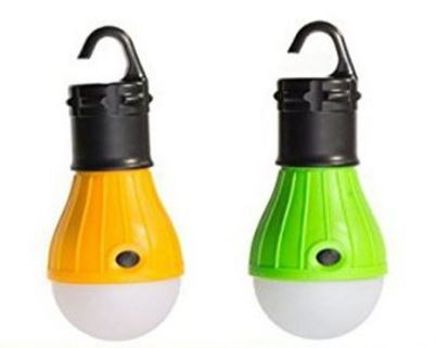 $5 Tent Camping Lamp / Night Light (Waterproof & (Batteries included)